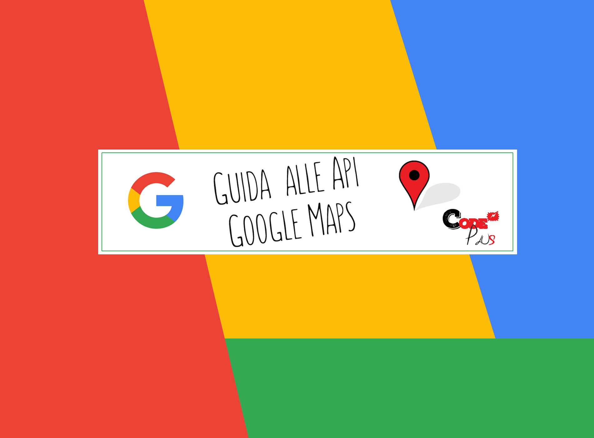Guida alle Api Google Maps
